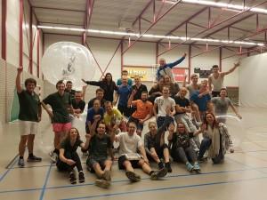 Bubblebal toernooi 2016